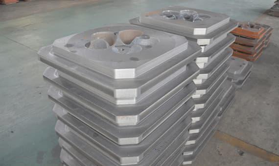 grinding media metal mold