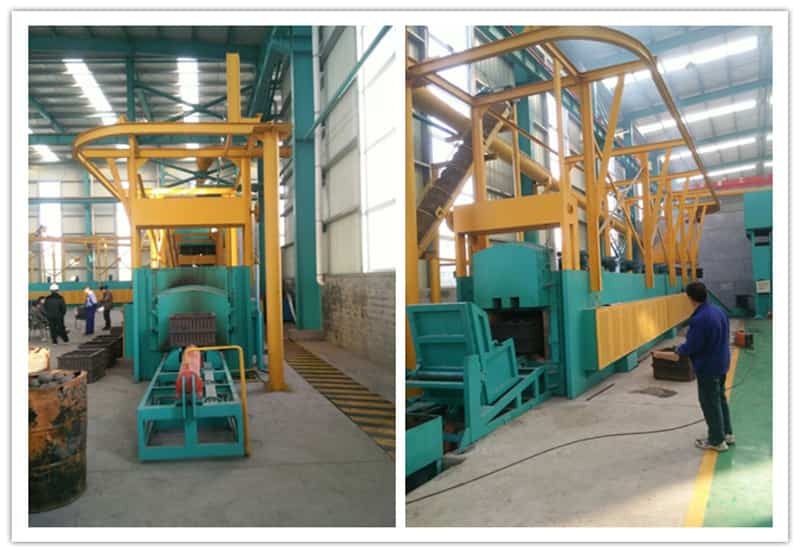 heat treatment machine for grinding balls