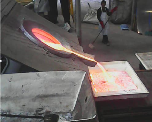 medium frequency induction furnace