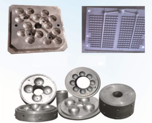 metal mold for producing chrome ball mill balls