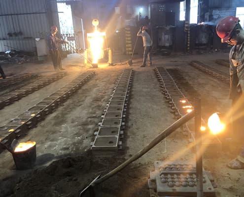 grinding balls making tooling