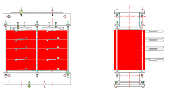 power control panel melting furnace