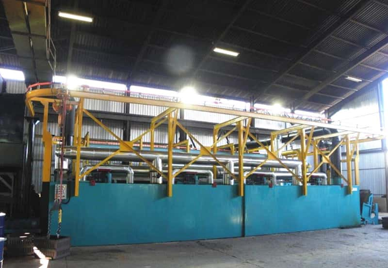 heat treatment equipment  for casting mill balls