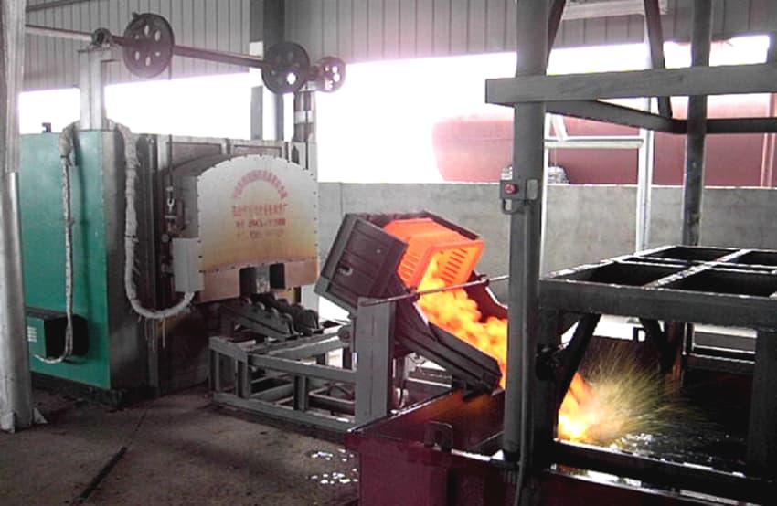 Heat Treatment Furnace for Grinding Media Balls,Steel Balls