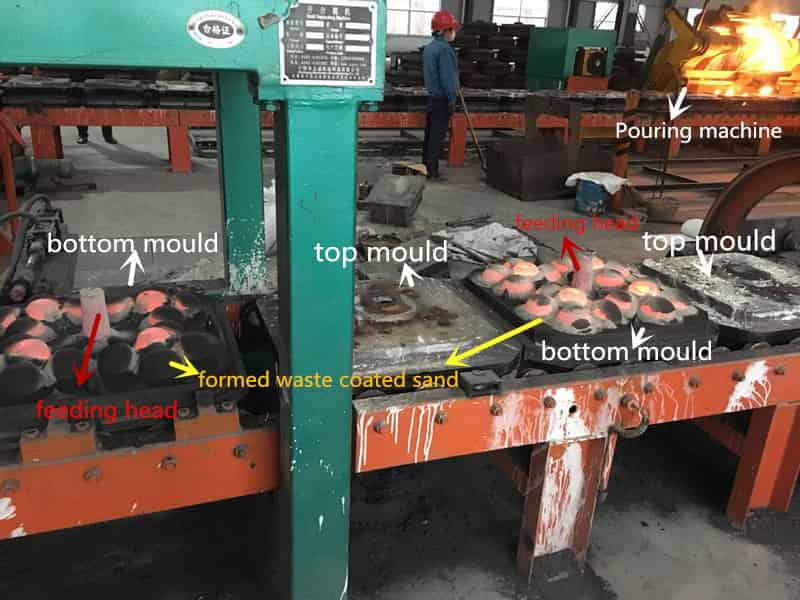 grinding media manufacturing process