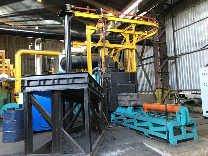Heat Treatment Plant for Grinding Balls - www.nghexin.co.za