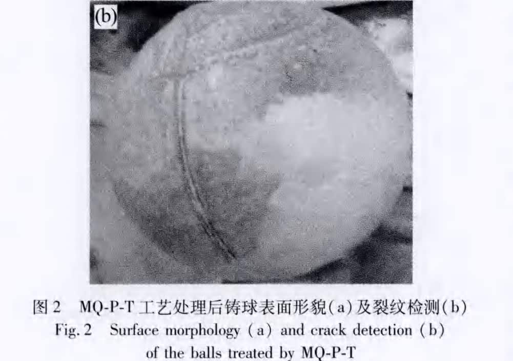 surface cast iron grinding ball